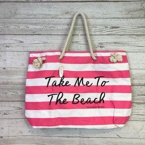 Victoria's Secret Canvas tote Take me to the Beach